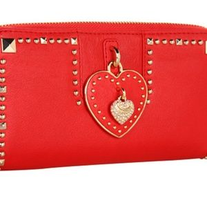 Authentic Juicy Couture Large Red Wallet